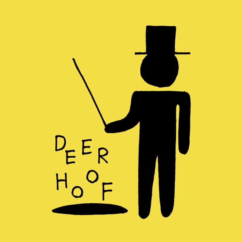 Deerhoof - The Magician Men's T-Shirt by Polyvinyl Threadless Shop