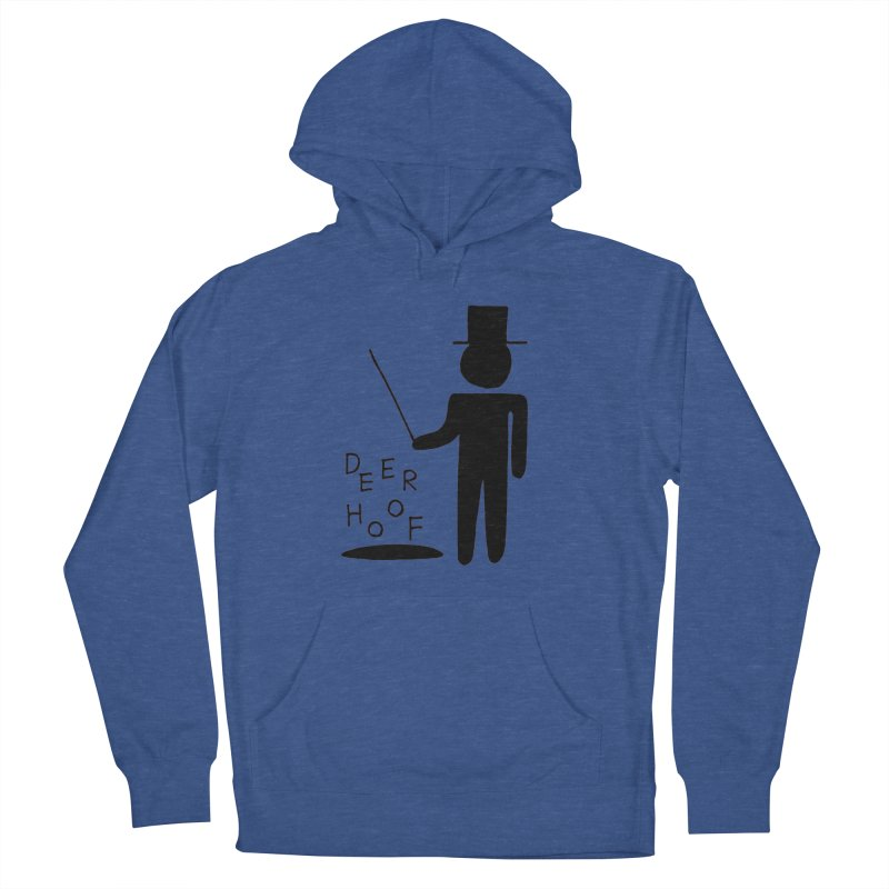 Deerhoof - The Magician Men's French Terry Pullover Hoody by Polyvinyl Threadless Shop