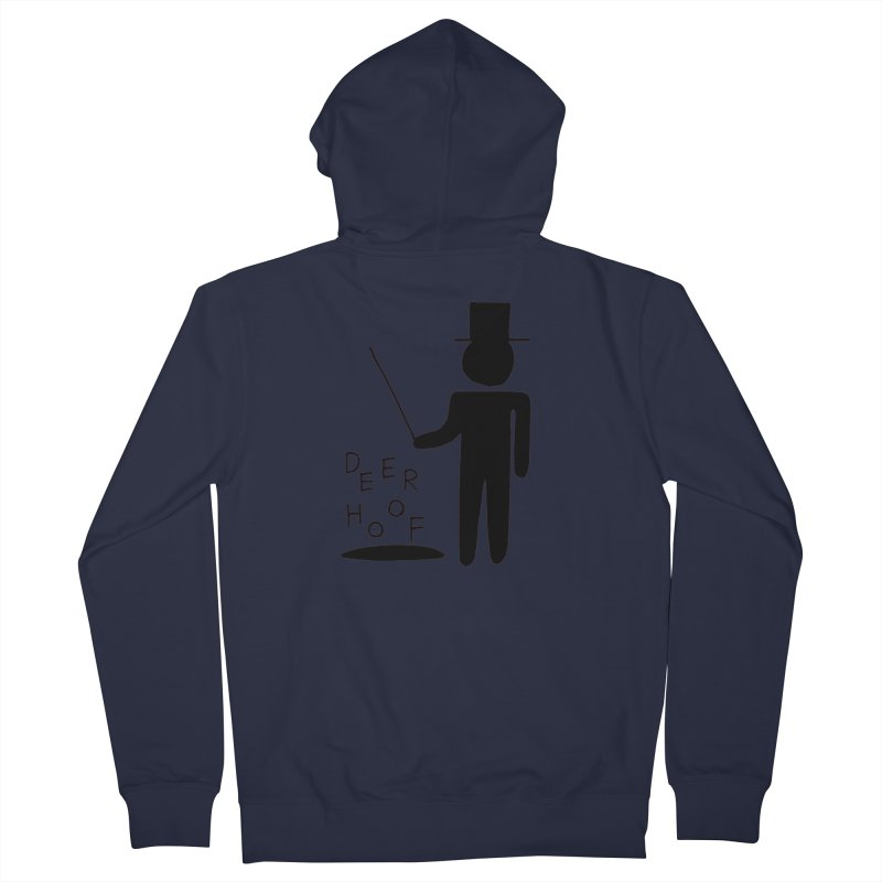 Deerhoof - The Magician Men's French Terry Zip-Up Hoody by Polyvinyl Threadless Shop
