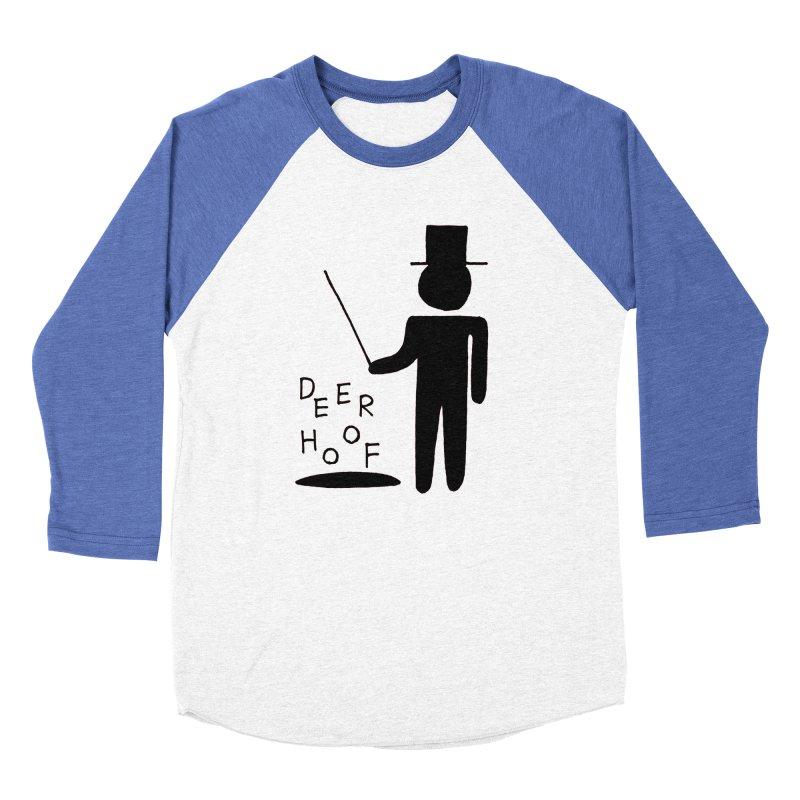 Deerhoof - The Magician Women's Baseball Triblend Longsleeve T-Shirt by Polyvinyl Threadless Shop