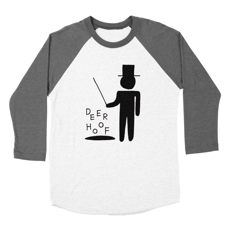 Deerhoof - The Magician Women's Baseball Triblend T-Shirt by Polyvinyl Threadless Shop