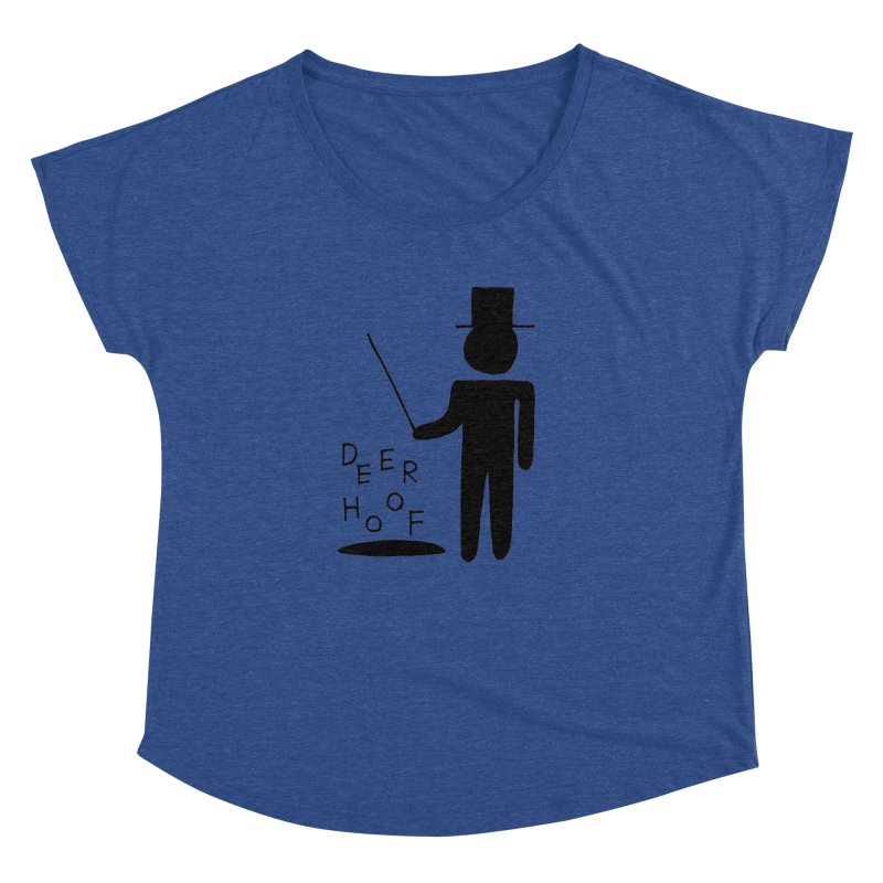 Deerhoof - The Magician Women's Dolman Scoop Neck by Polyvinyl Threadless Shop