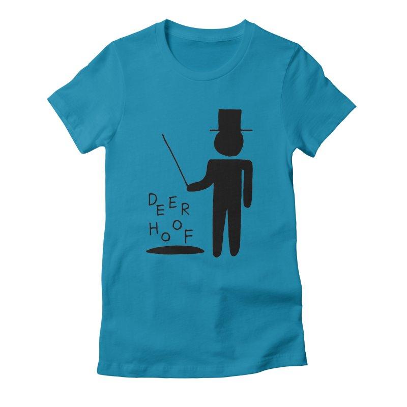 Deerhoof - The Magician Women's Fitted T-Shirt by Polyvinyl Threadless Shop