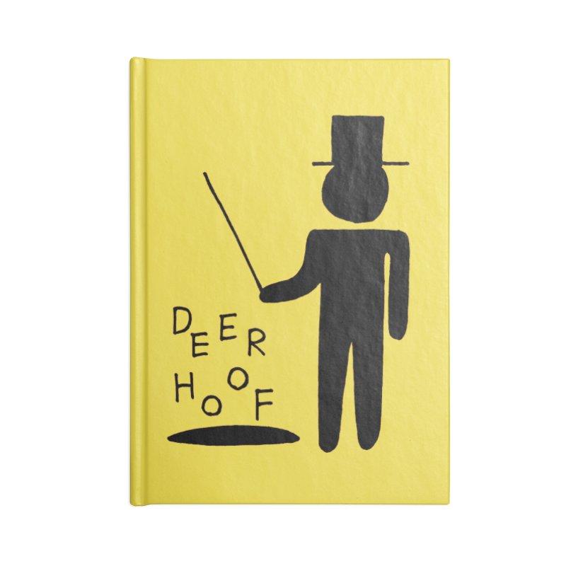 Deerhoof - The Magician Accessories Notebook by Polyvinyl Threadless Shop