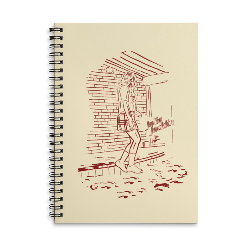 Julia Jacklin - Pool Party Accessories Lined Spiral Notebook by Polyvinyl Threadless Shop
