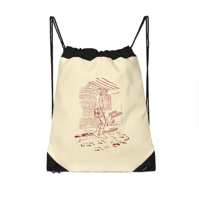 Julia Jacklin - Pool Party Accessories Drawstring Bag Bag by Polyvinyl Threadless Shop
