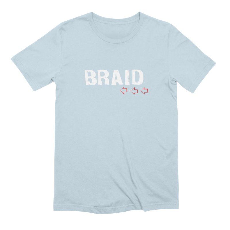Braid - Arrows in Men's Extra Soft T-Shirt Baby Blue by Polyvinyl Threadless Shop