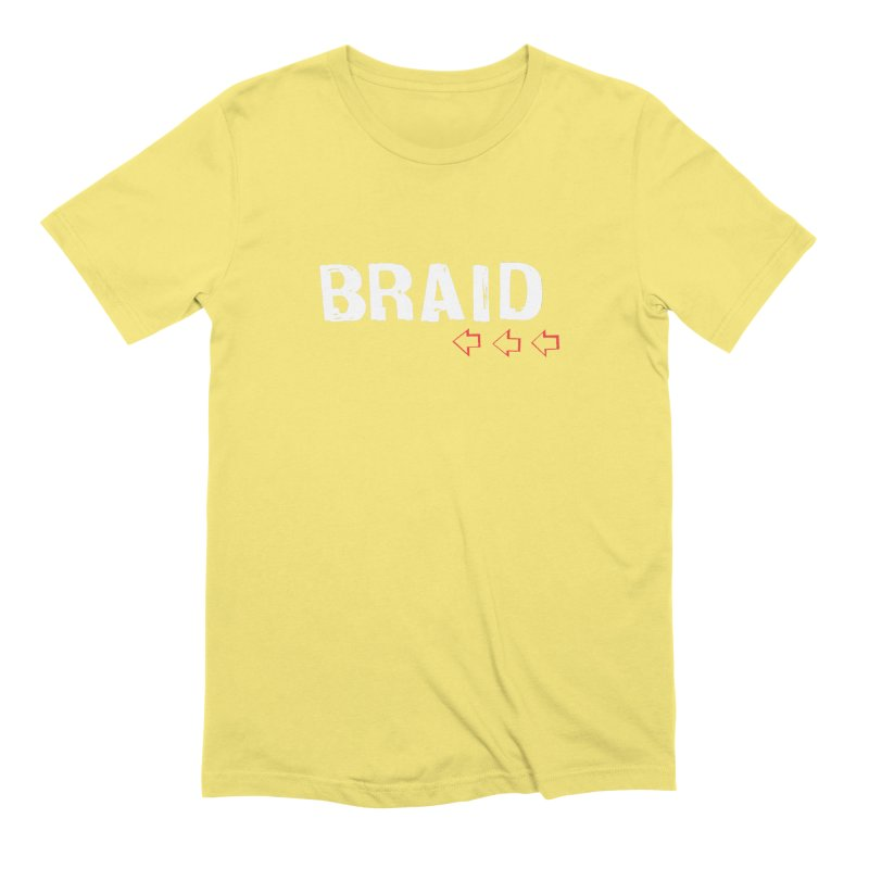 Braid - Arrows Men's Extra Soft T-Shirt by Polyvinyl Threadless Shop