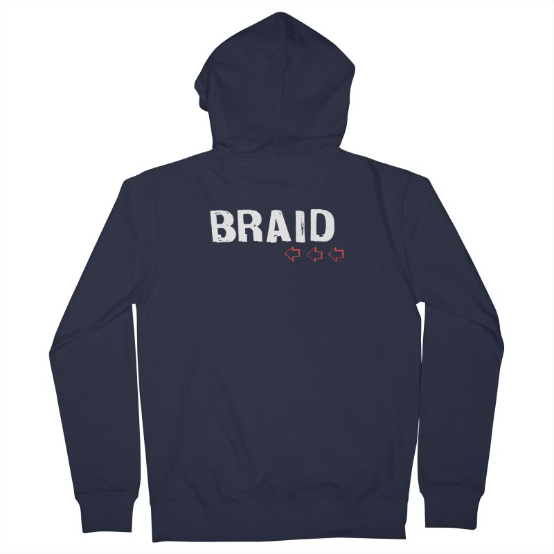 Braid - Arrows Women's Zip-Up Hoody by Polyvinyl Threadless Shop