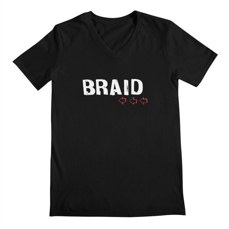 Braid - Arrows Men's V-Neck by Polyvinyl Threadless Shop