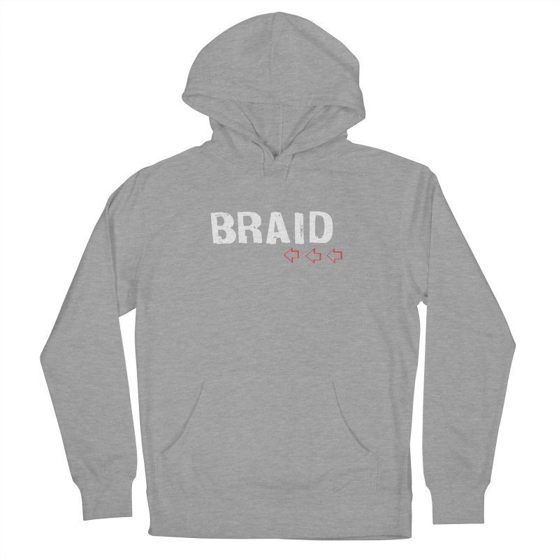 Braid - Arrows Men's French Terry Pullover Hoody by Polyvinyl Threadless Shop