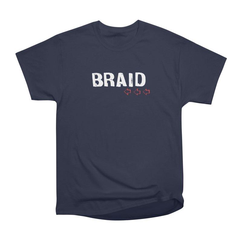 Braid - Arrows Men's Heavyweight T-Shirt by Polyvinyl Threadless Shop