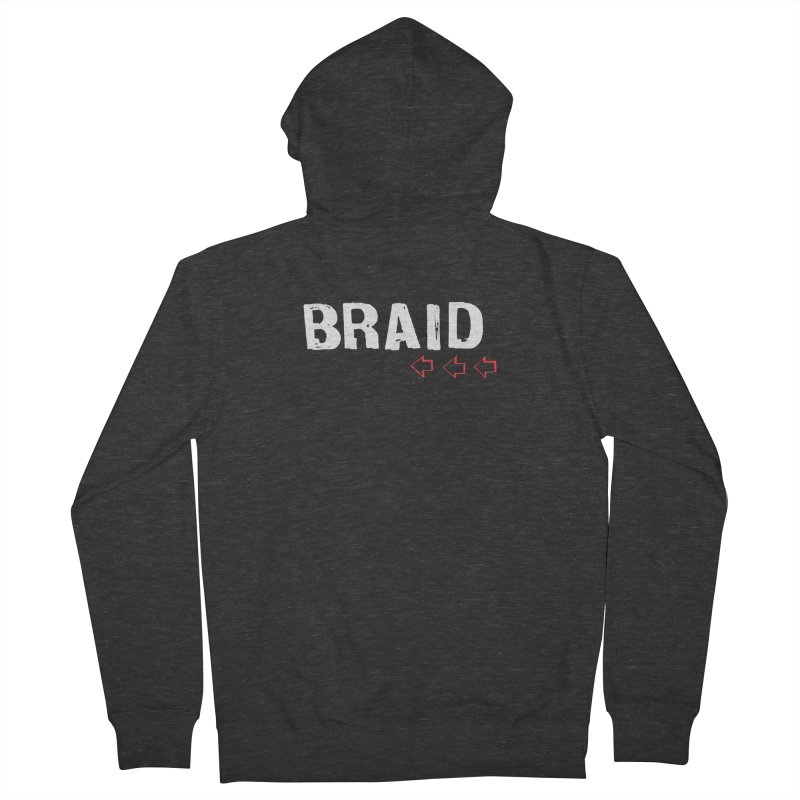 Braid - Arrows Women's French Terry Zip-Up Hoody by Polyvinyl Threadless Shop