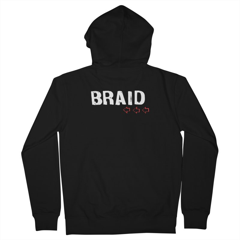 Braid - Arrows Men's French Terry Zip-Up Hoody by Polyvinyl Threadless Shop