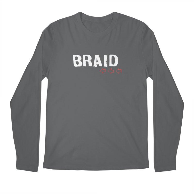 Braid - Arrows Men's Regular Longsleeve T-Shirt by Polyvinyl Threadless Shop