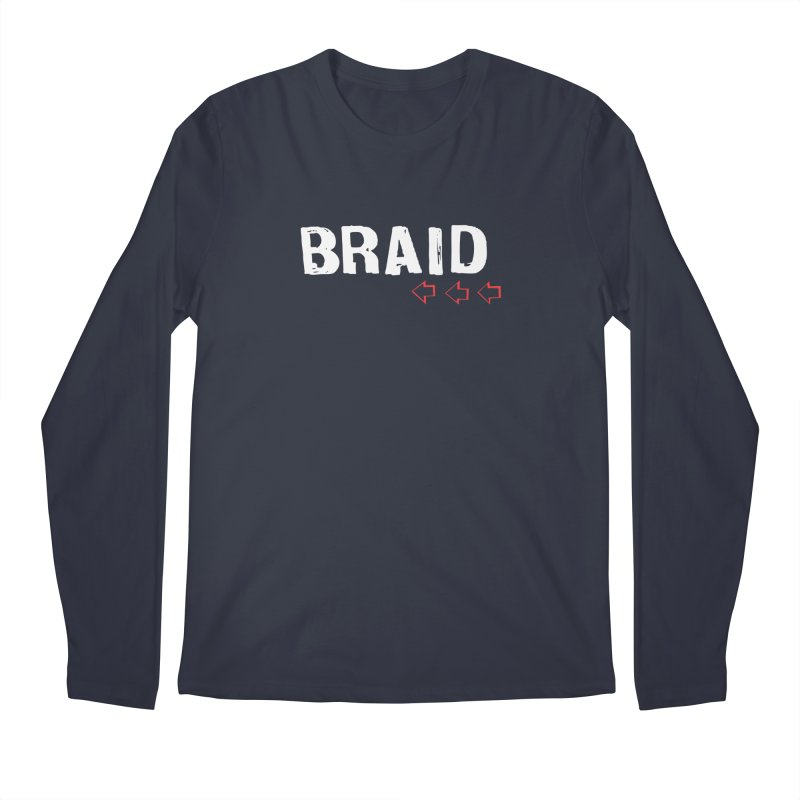 Braid - Arrows Men's Regular Longsleeve T-Shirt by Polyvinyl Threadless Shop