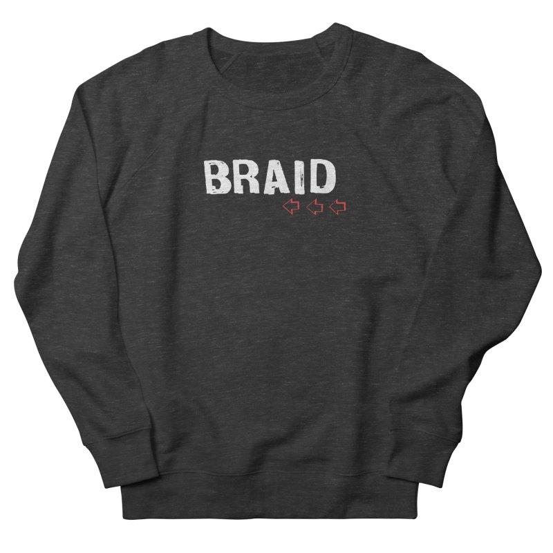 Braid - Arrows Men's French Terry Sweatshirt by Polyvinyl Threadless Shop