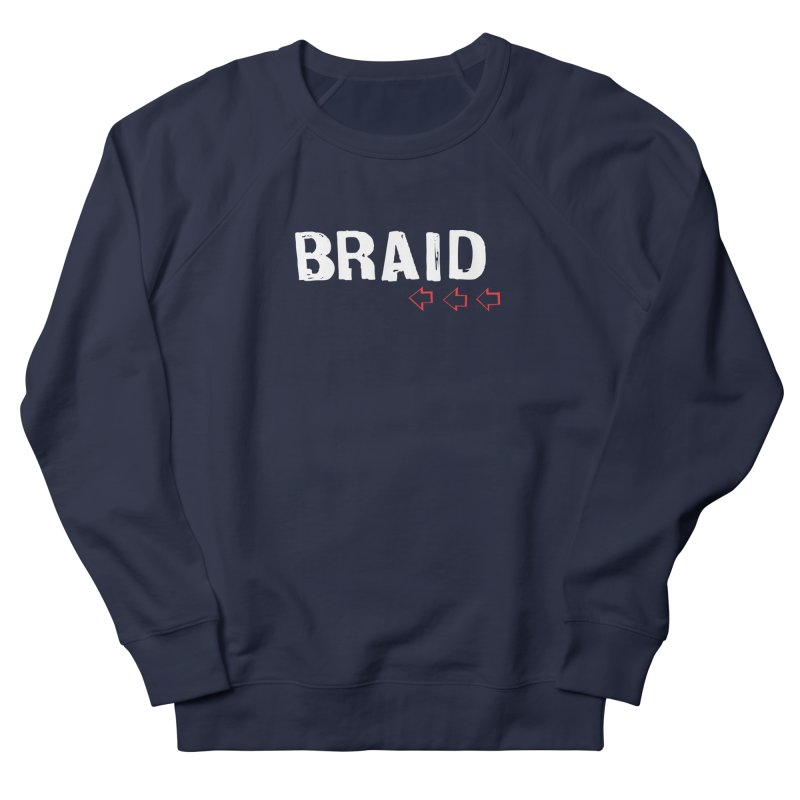 Braid - Arrows Men's French Terry Sweatshirt by Polyvinyl Threadless Shop