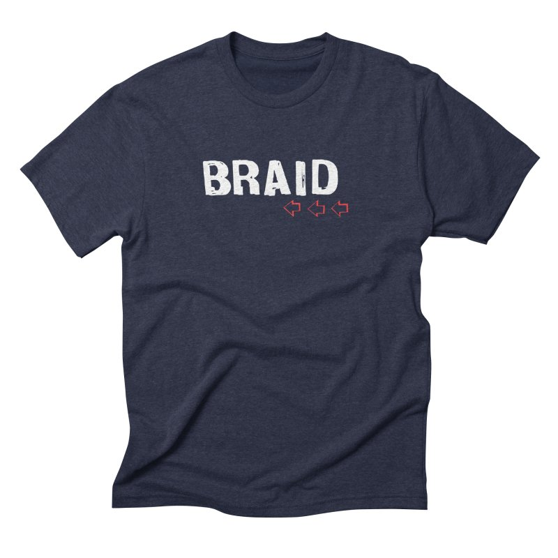 Braid - Arrows Men's Triblend T-Shirt by Polyvinyl Threadless Shop
