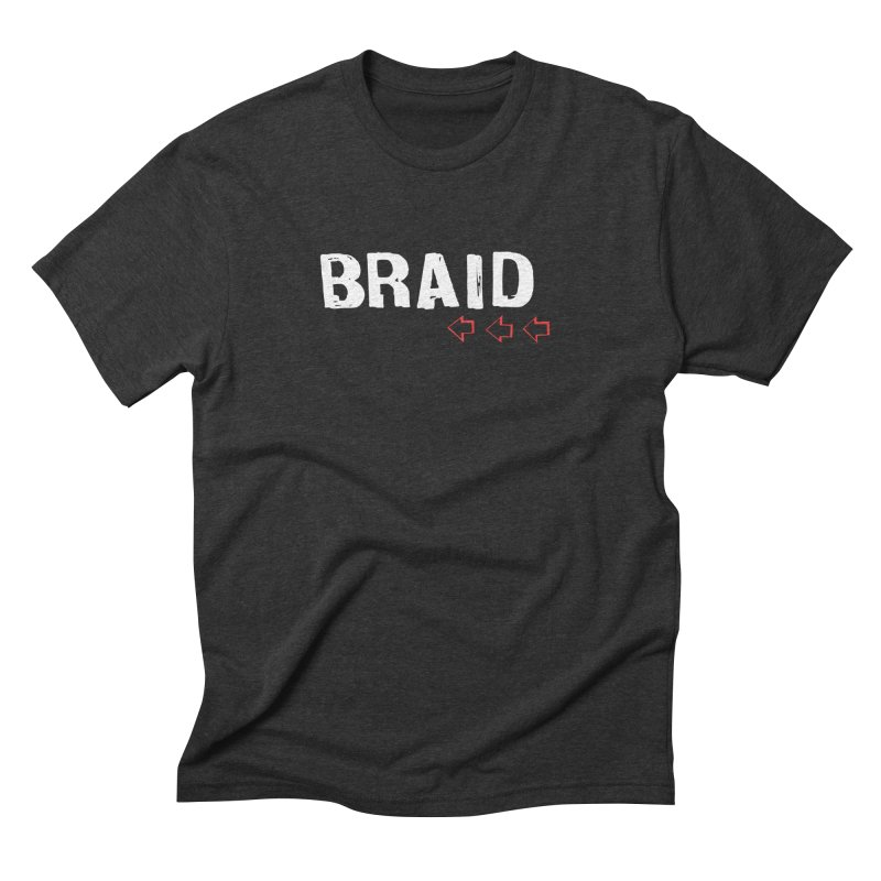Braid - Arrows Men's Triblend T-shirt by Polyvinyl Threadless Shop
