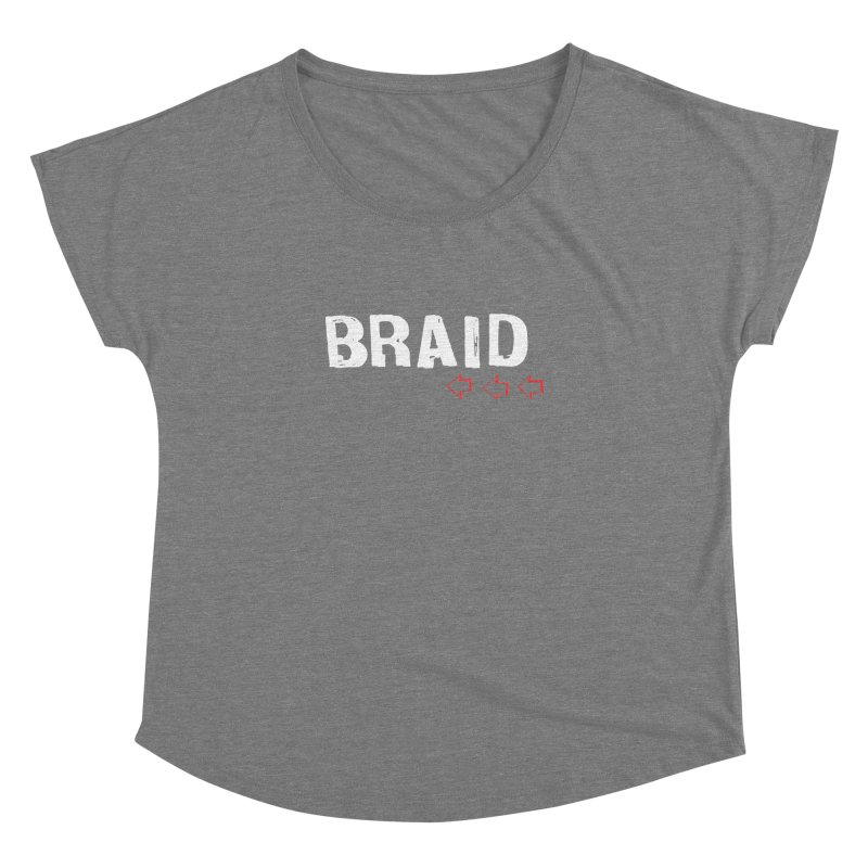 Braid - Arrows Women's Scoop Neck by Polyvinyl Threadless Shop