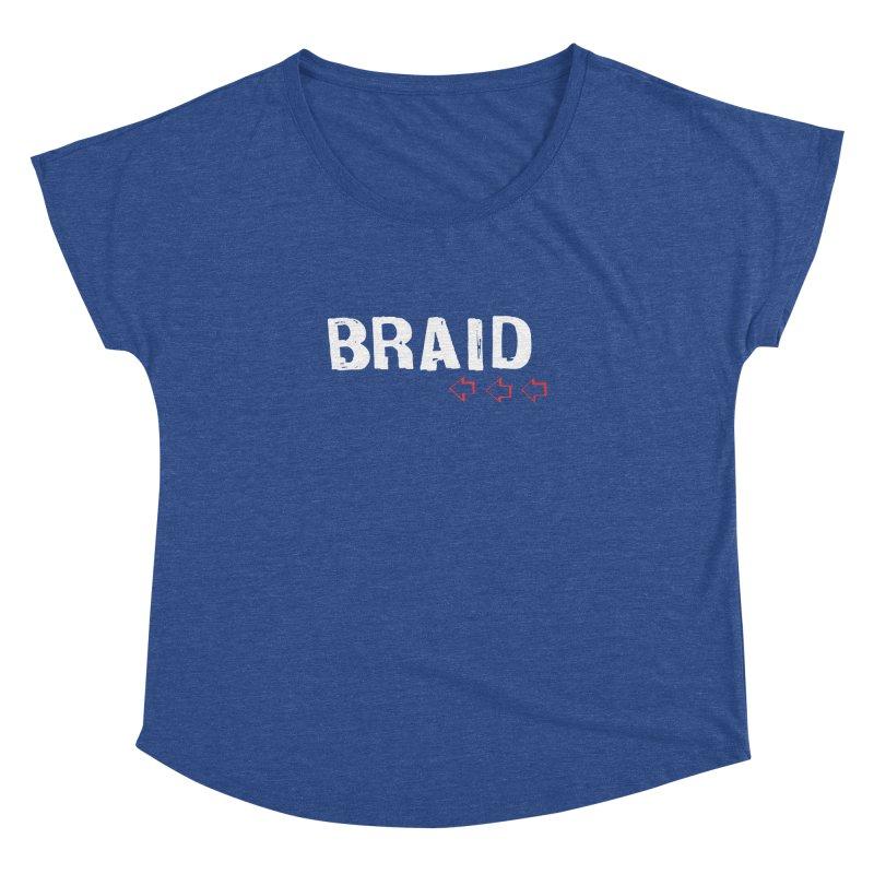 Braid - Arrows Women's Dolman Scoop Neck by Polyvinyl Threadless Shop