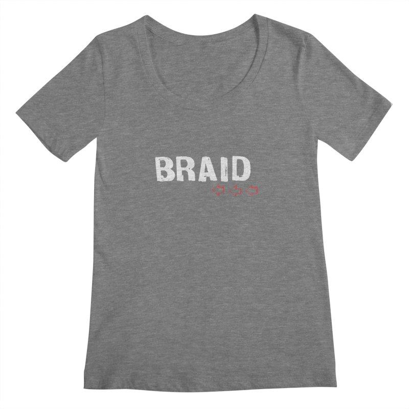 Braid - Arrows Women's Scoopneck by Polyvinyl Threadless Shop