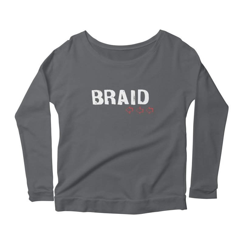 Braid - Arrows Women's Longsleeve Scoopneck  by Polyvinyl Threadless Shop