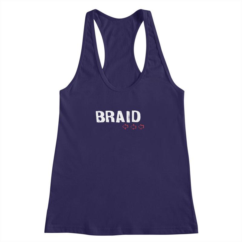 Braid - Arrows Women's Racerback Tank by Polyvinyl Threadless Shop