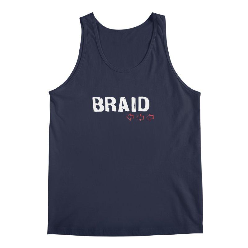 Braid - Arrows Men's Regular Tank by Polyvinyl Threadless Shop