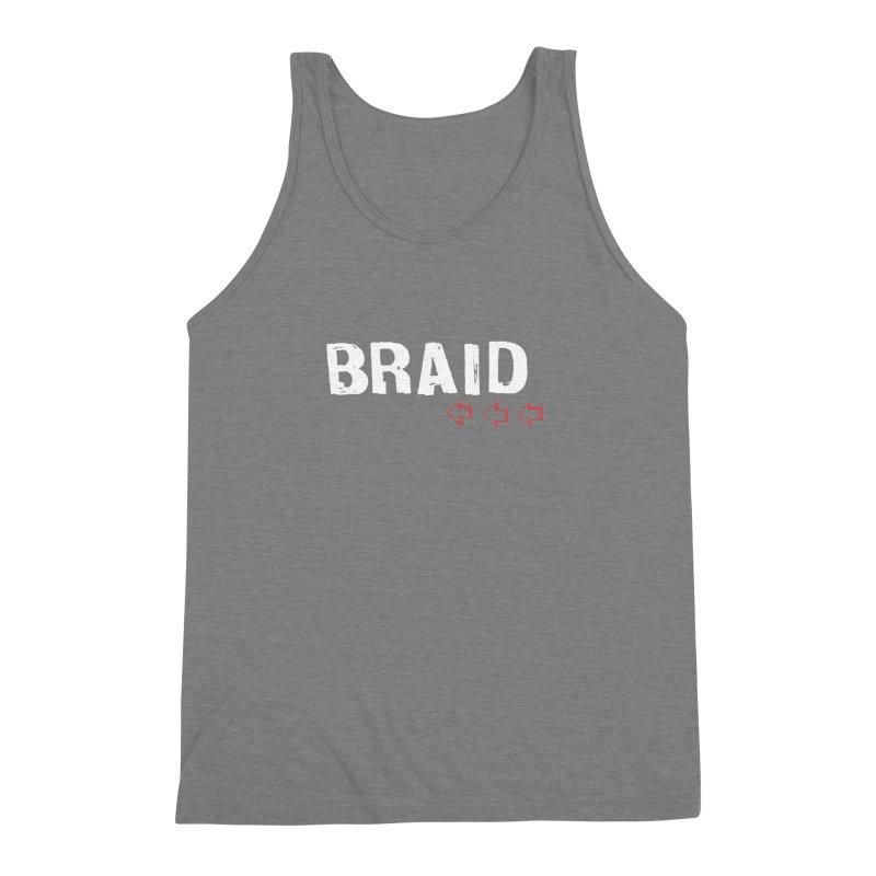 Braid - Arrows Men's Triblend Tank by Polyvinyl Threadless Shop
