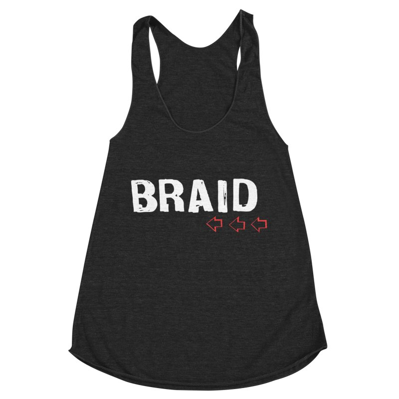 Braid - Arrows Women's Racerback Triblend Tank by Polyvinyl Threadless Shop