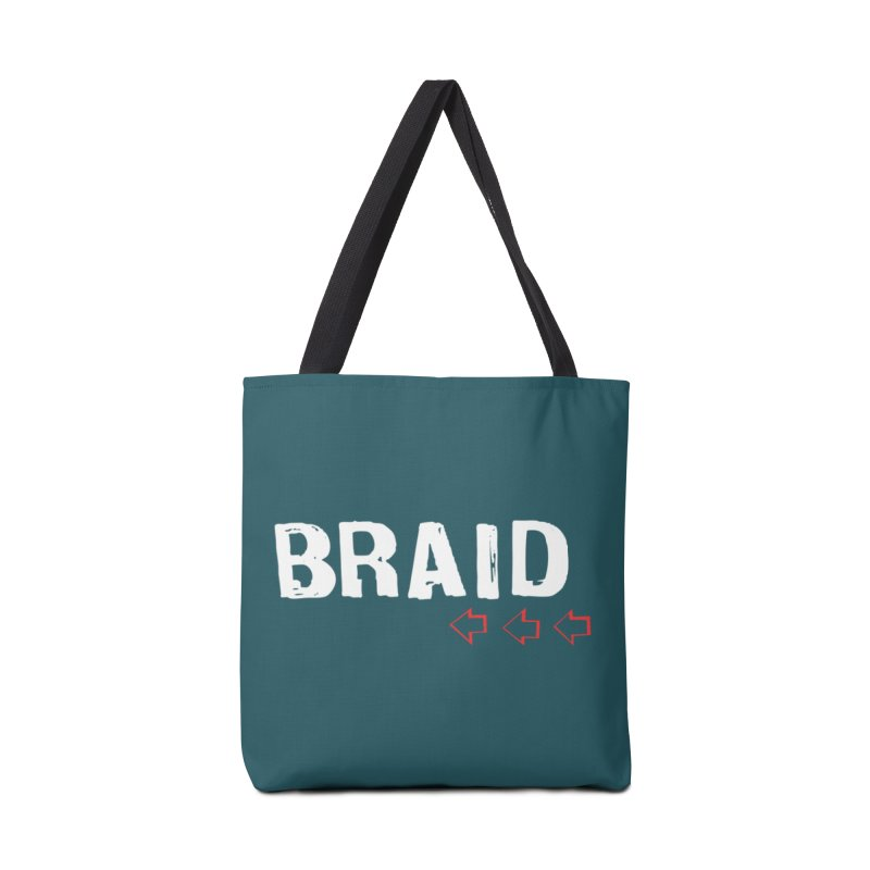 Braid - Arrows Accessories Tote Bag Bag by Polyvinyl Threadless Shop