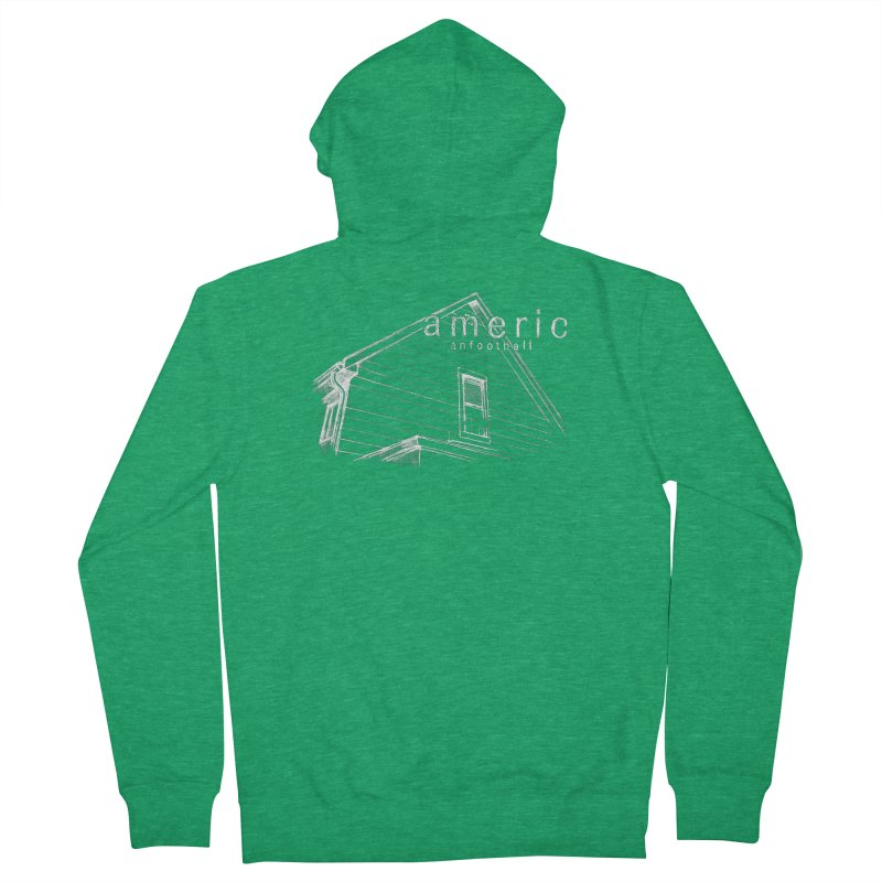 American Football - Stay Home Women's French Terry Zip-Up Hoody by Polyvinyl Threadless Shop