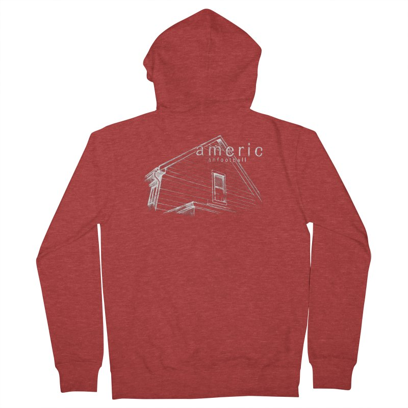 American Football - Stay Home Men's French Terry Zip-Up Hoody by Polyvinyl Threadless Shop