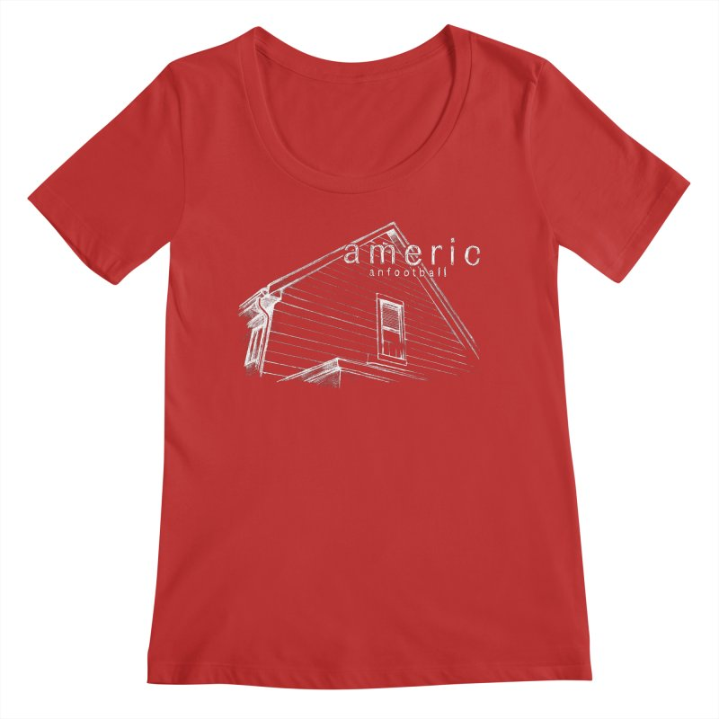American Football - Stay Home Women's Regular Scoop Neck by Polyvinyl Threadless Shop