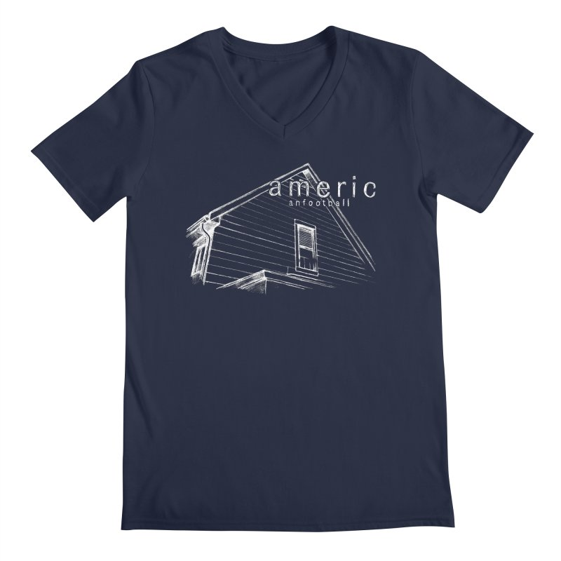 American Football - Stay Home Men's Regular V-Neck by Polyvinyl Threadless Shop