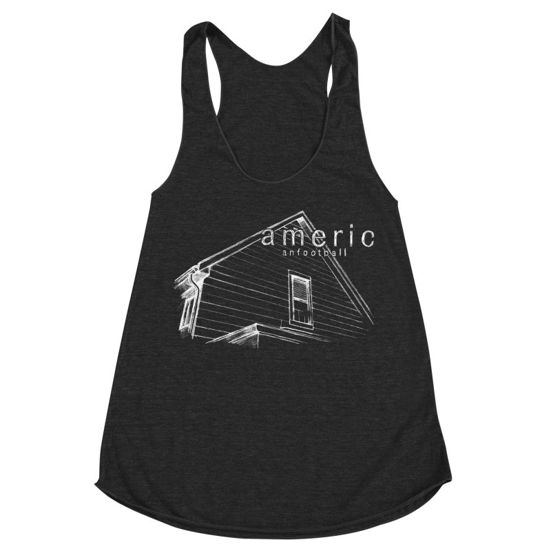 American Football - Stay Home Women's Racerback Triblend Tank by Polyvinyl Threadless Shop
