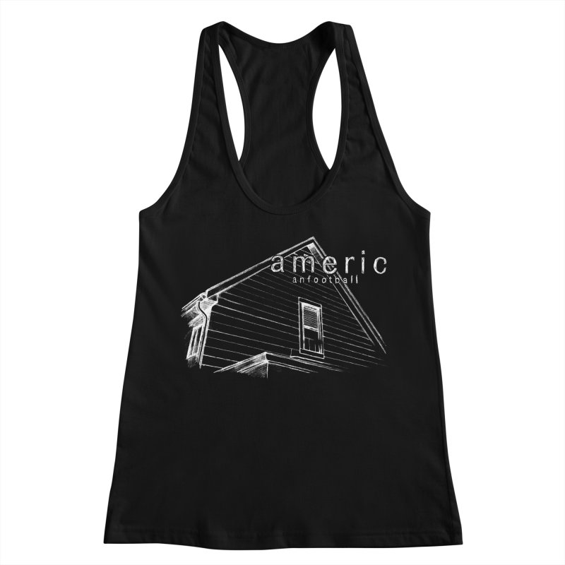 American Football - Stay Home Women's Racerback Tank by Polyvinyl Threadless Shop