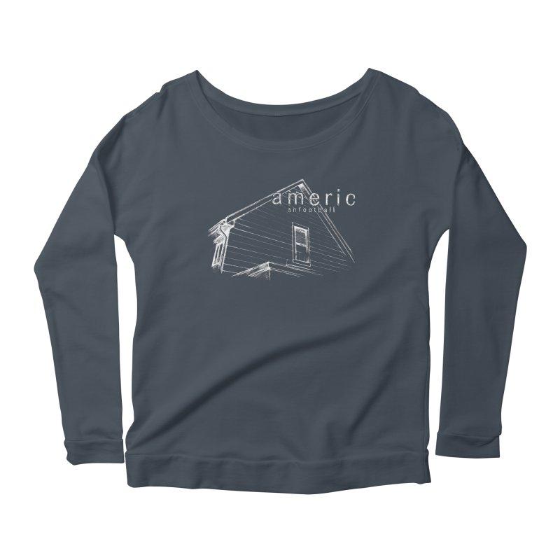 American Football - Stay Home Women's Scoop Neck Longsleeve T-Shirt by Polyvinyl Threadless Shop