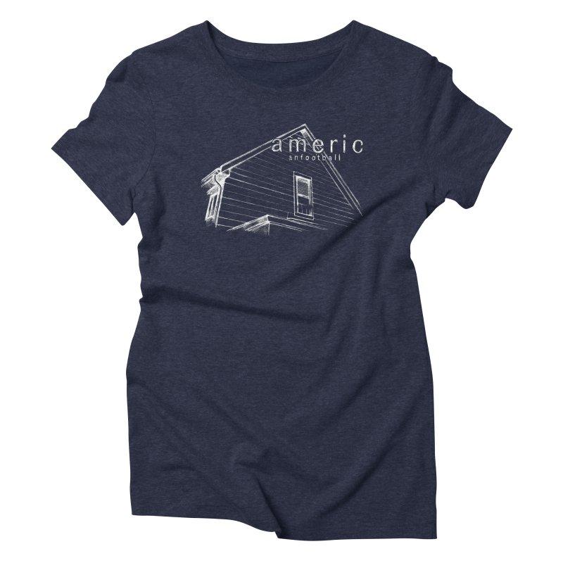 American Football - Stay Home Women's Triblend T-Shirt by Polyvinyl Threadless Shop