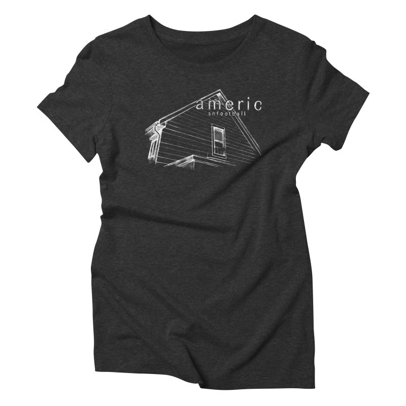 American Football - Stay Home Women's Triblend T-Shirt by Polyvinyl Threadless Shop