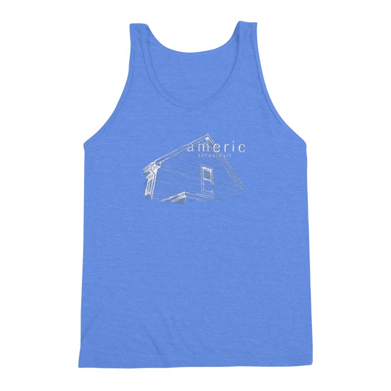 American Football - Stay Home Men's Triblend Tank by Polyvinyl Threadless Shop