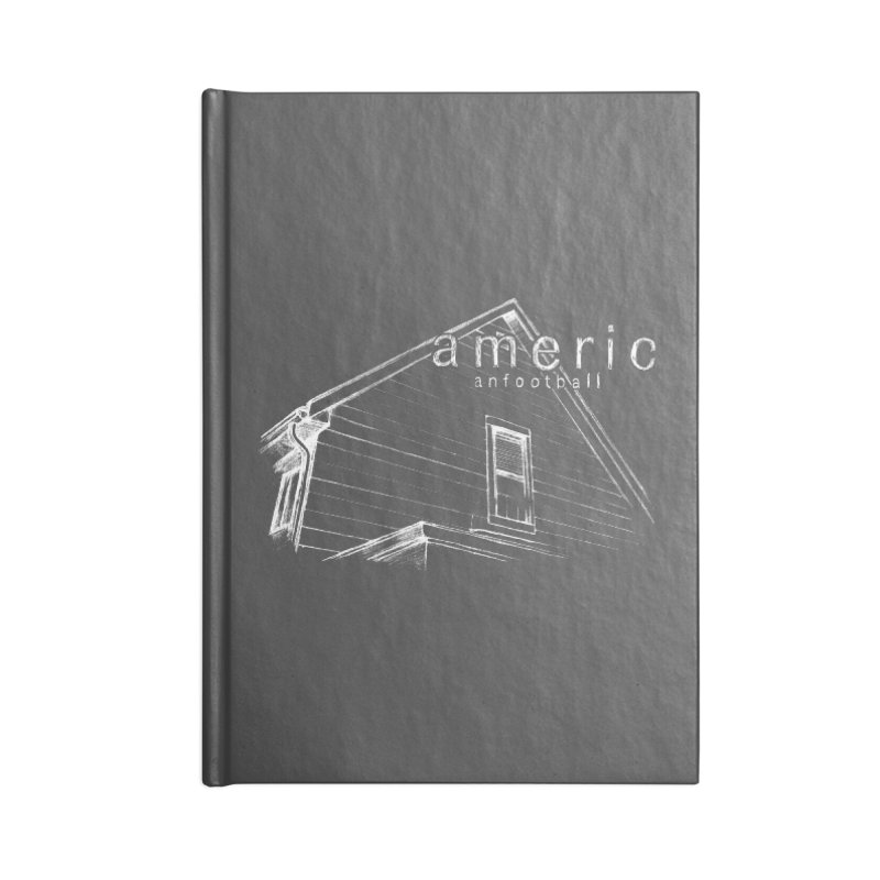 American Football - Stay Home Accessories Lined Journal Notebook by Polyvinyl Threadless Shop