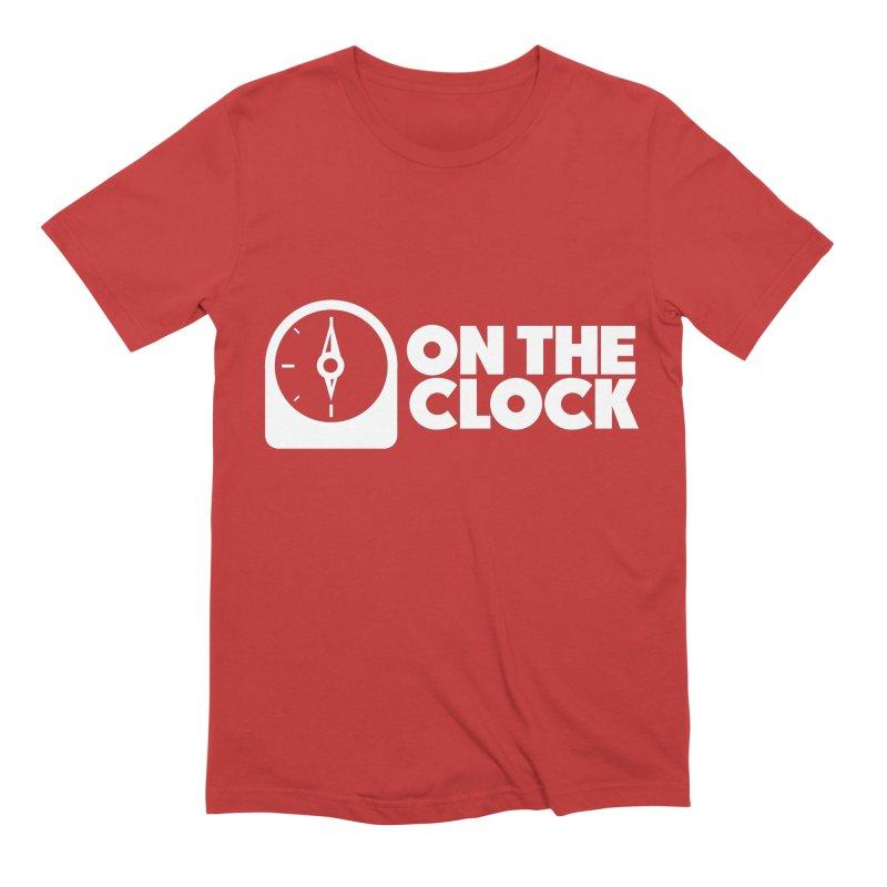 Polyvinyl - On The Clock Men's Extra Soft T-Shirt by Polyvinyl Threadless Shop