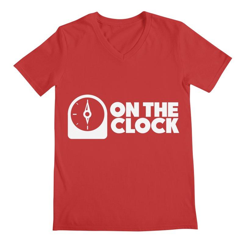 Polyvinyl - On The Clock Men's V-Neck by Polyvinyl Threadless Shop