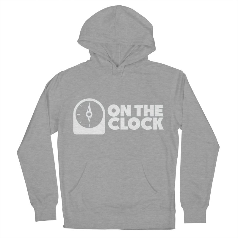 Polyvinyl - On The Clock Men's French Terry Pullover Hoody by Polyvinyl Threadless Shop