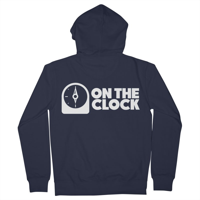 Polyvinyl - On The Clock Women's French Terry Zip-Up Hoody by Polyvinyl Threadless Shop