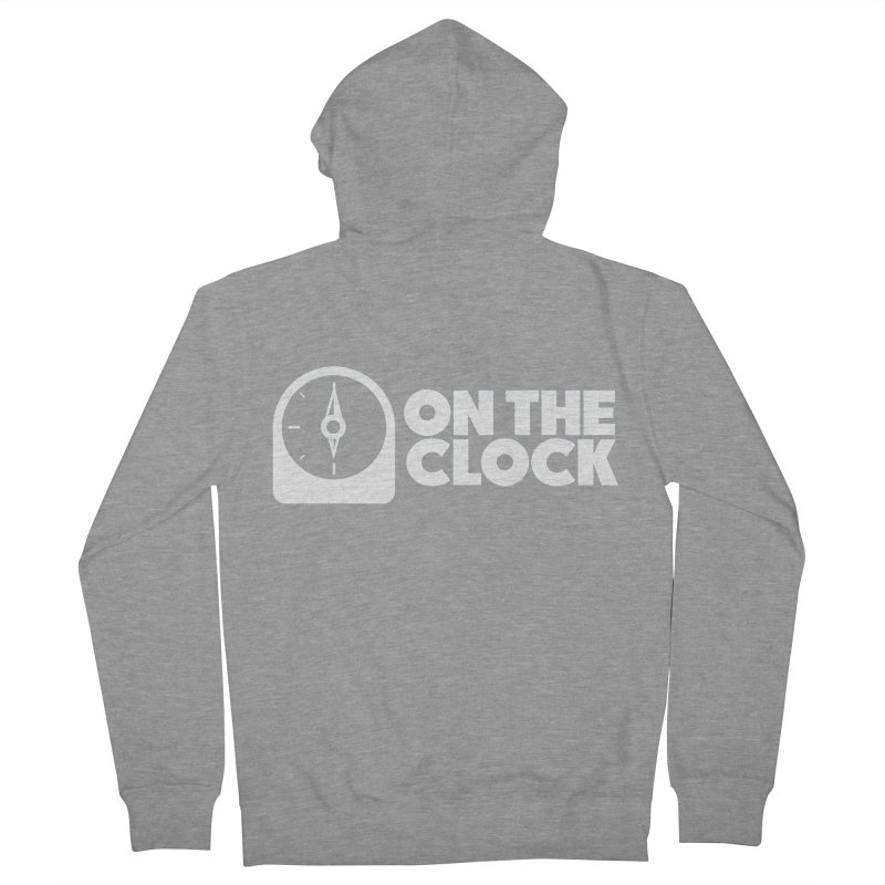 Polyvinyl - On The Clock Men's French Terry Zip-Up Hoody by Polyvinyl Threadless Shop