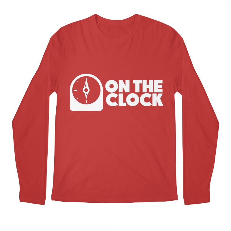 Polyvinyl - On The Clock Men's Regular Longsleeve T-Shirt by Polyvinyl Threadless Shop